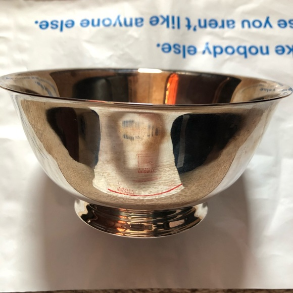 Paul Revere Oneida Silver Plated Reproduction Bowl